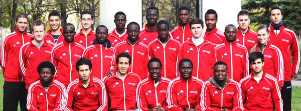 Les Rouges - soccer masculin 2014