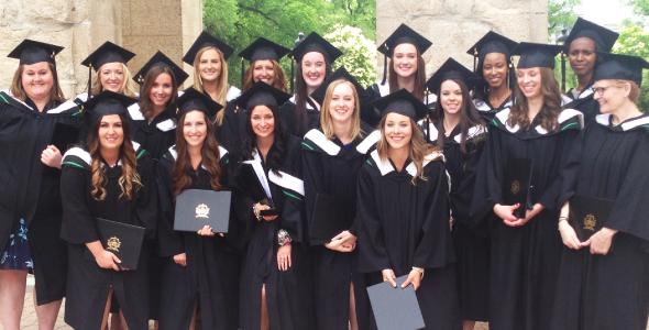 La première cohorte du programme de baccalauréat en sciences infirmières de l'USB