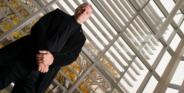 Denis Gagnon, co-organisateur de l'atelier Le statut de Métis au Canada et dans le monde