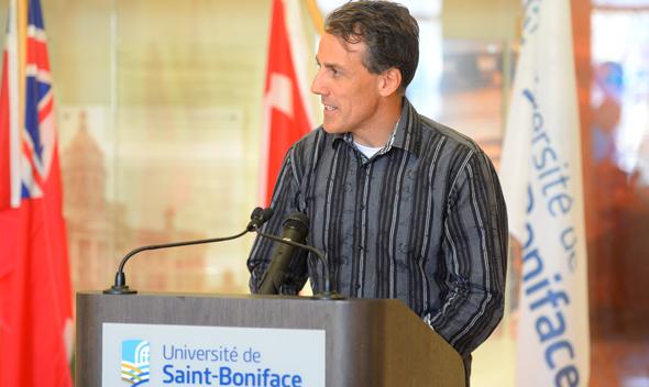 Patrick Fredette, co-président de la campagne de financement 2014-2015