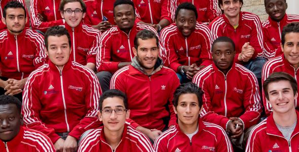 Les Rouges - soccer 2015