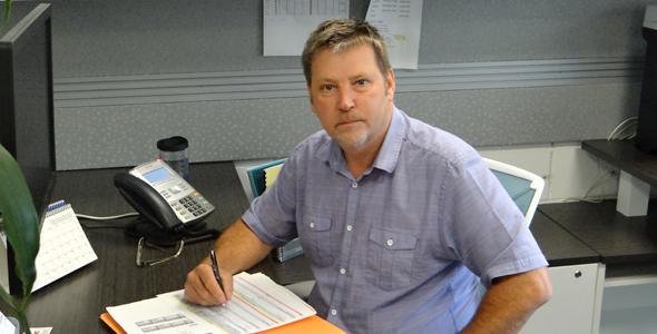 Robert Simard, directeur de la sécurité et des installations à l'USB