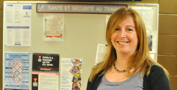 L'USB démystifie la santé et la sécurité au travail - Julie Belley