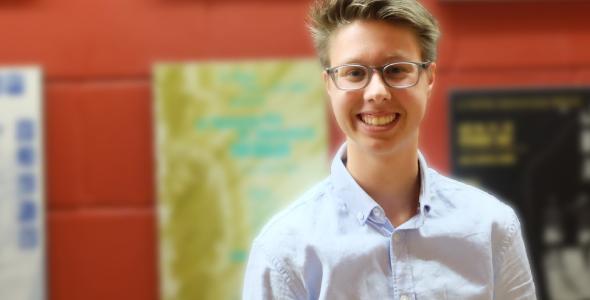 Charlie Dilk, représentant de l'Alliance allosexuelle-hétérosexuelle à l'USB
