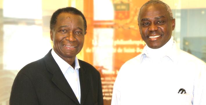 Ibrahima Diallo et Macoura Gadji