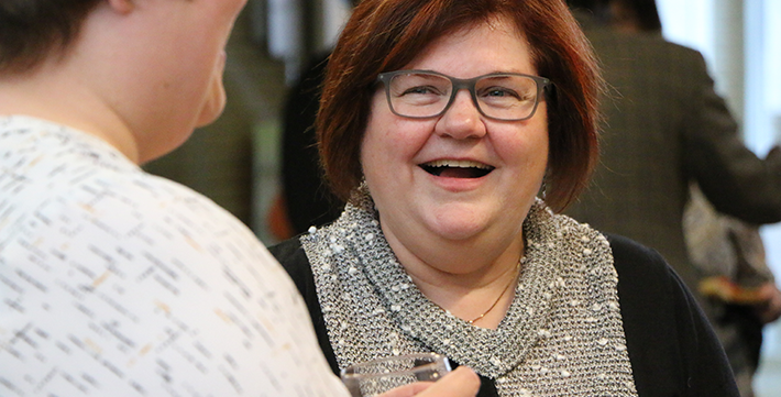 Florette Giasson, directrice de l'École de travail social de l'Université de Saint-Boniface