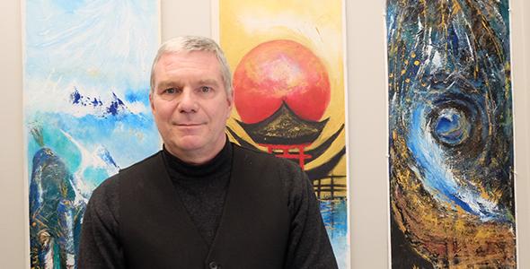 Denis Gagnon, professeur d'anthropologie à l'USB et musicien