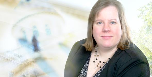 Mélanie Cwikla, directrice de l'École technique et professionnelle