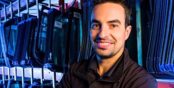 Jean-Marc Champagne Brunet, diplômé en administration des affaires de l'USB