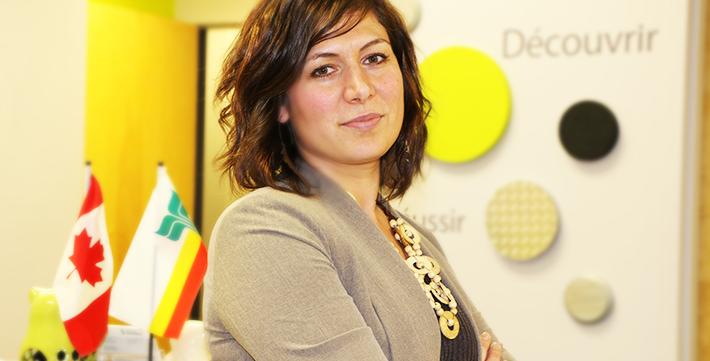 Nathalie Roche au Bureau de recrutement
