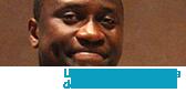 Tadens Mpwene, étudiant en administration des affaires à l'Université de Saint-Boniface