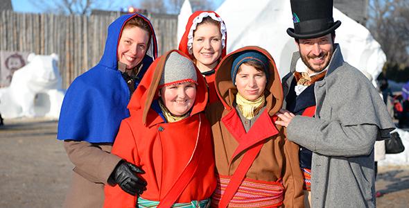 les voyageurs officiels, Festival du Voyageur