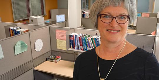 Gisèle Barnabé, ancienne directrice du Service de perfectionnement linguistique