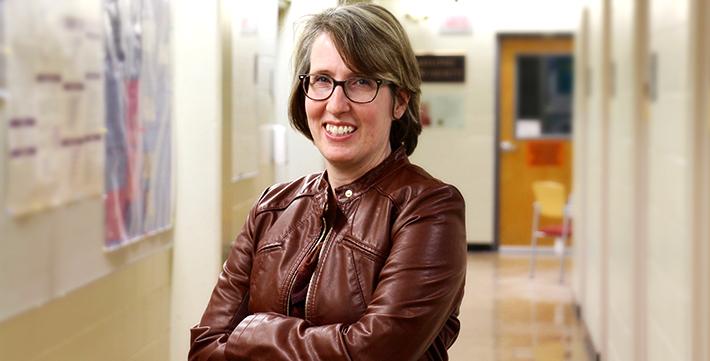 Danielle De Moissac, chercheuse et professeure de sciences à l'USB