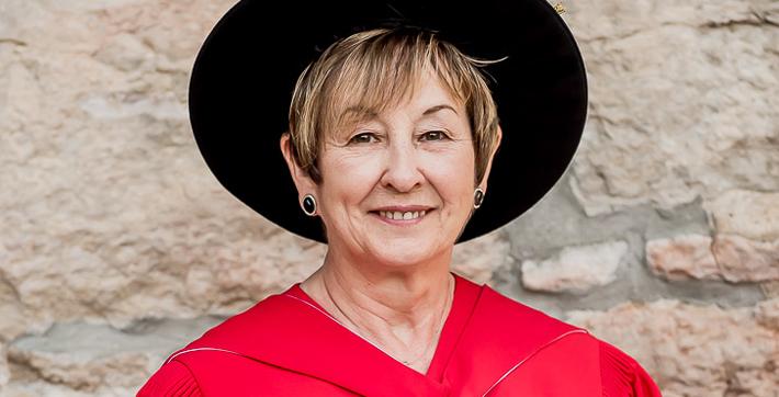 Carolyn Duhamel, récipiendaire d'un doctorat honorifique de l'USB.