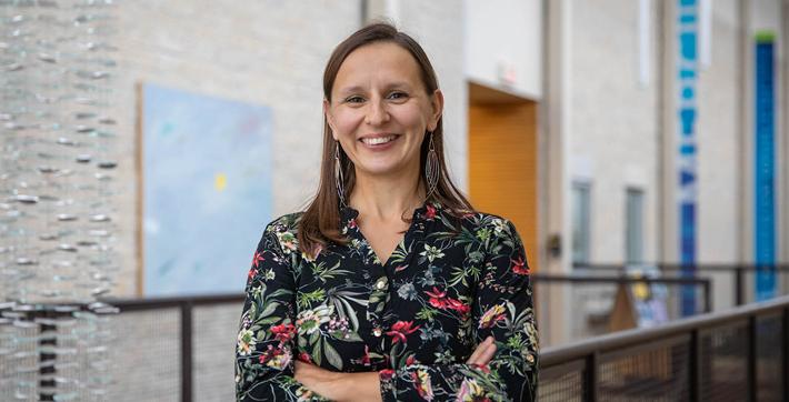 Gail Cormier, professeure à l'Université de Saint-Boniface.
