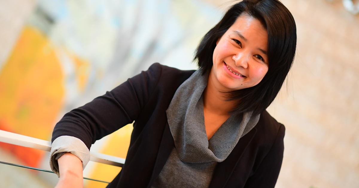 Phi-Vân Nguyen, professeure à l'Université de Saint-Boniface.