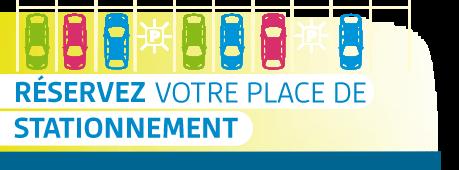 Réservez votre place de stationnement