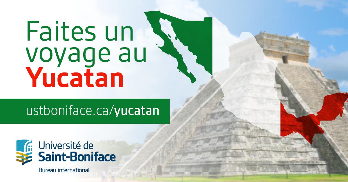 Faites un voyage au Yucatan