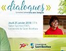 Dialogues avec invitée Lise Gaboury-Diallo