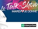 Vidéo - Le Talk-Show, présenté dans le cadre de Mardi je donne