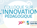 Vidéo - Colloque sur l'innovation pédagogique