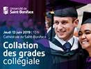 Collation des grades collégiale 2019.