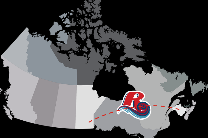 Carte géographique du Canada