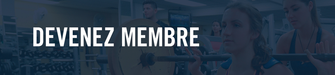 Devenez membre