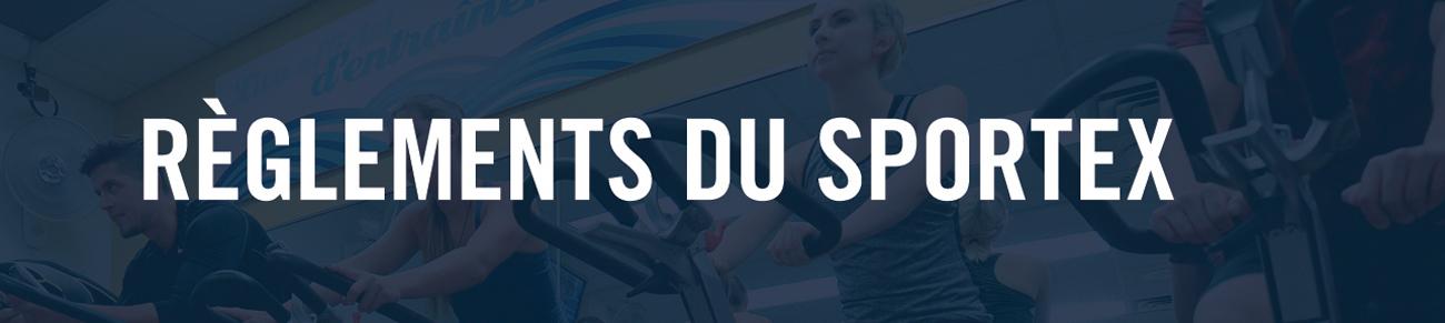 Règlements du Sportex
