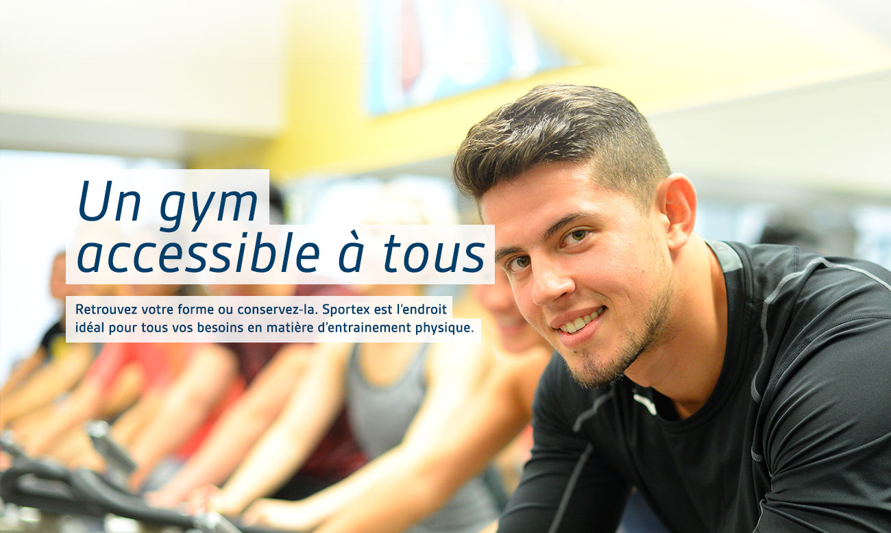 Un gym accessible à tous